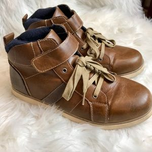 SONOMA ankle boots Unisex lace up barely used!